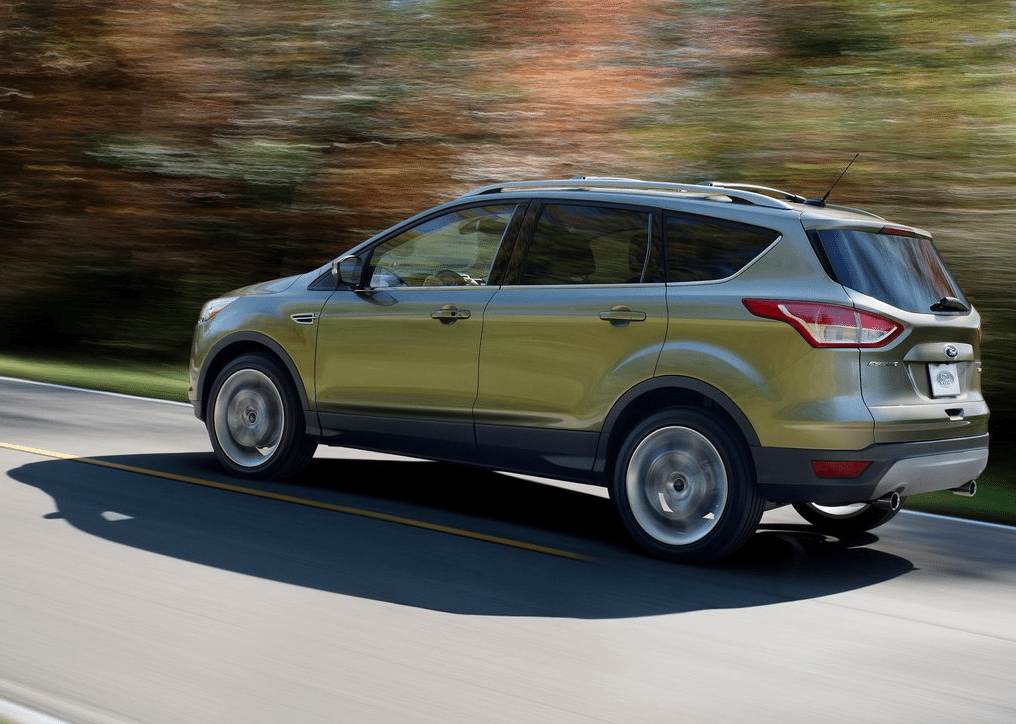 2013 Ford Escape green