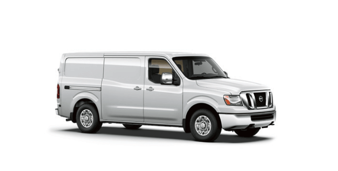2014 Nissan NV white