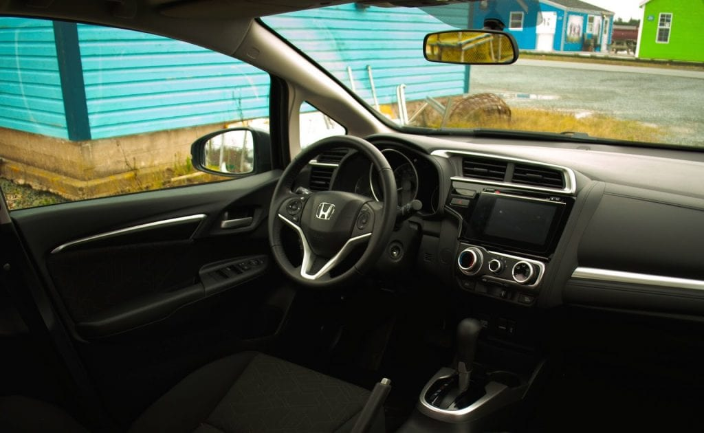 2015 Honda Fit EX interior