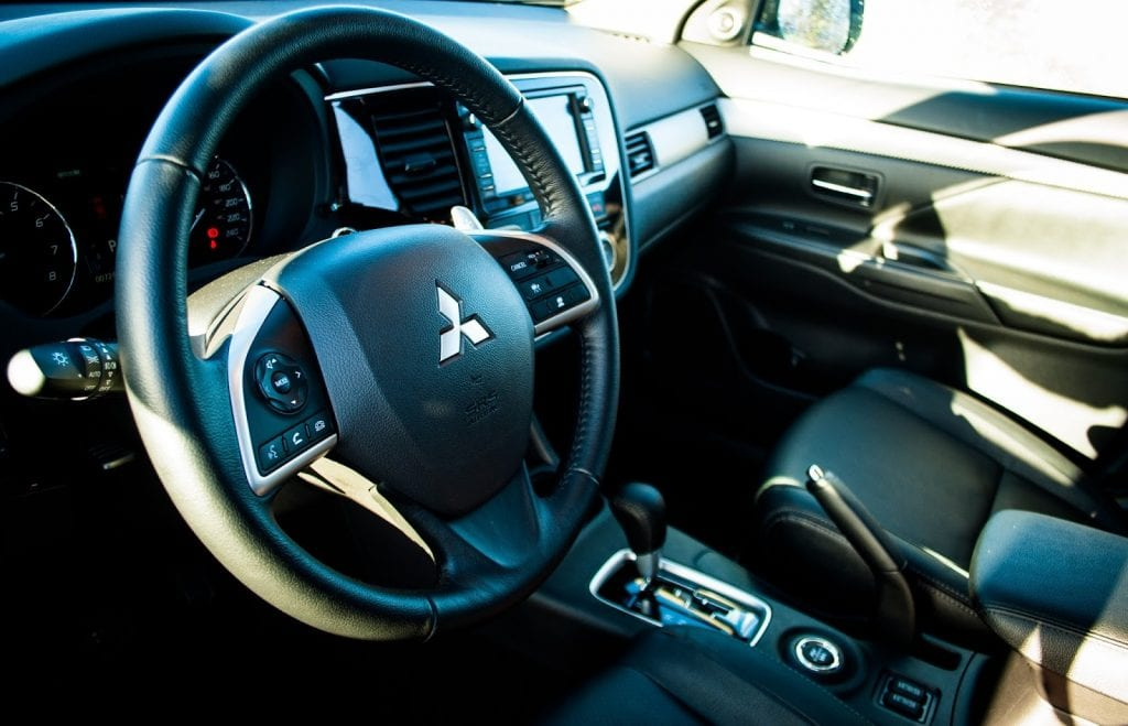 2015 Mitsubishi Outlander GT interior