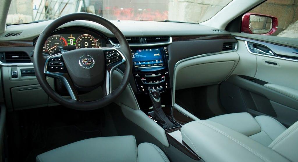 2015 Cadillac XTS Vsport Platinum interior