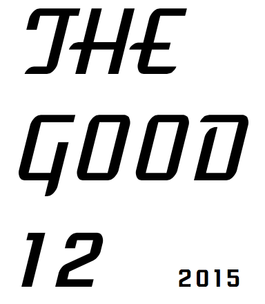 2015 The Good 12 logo