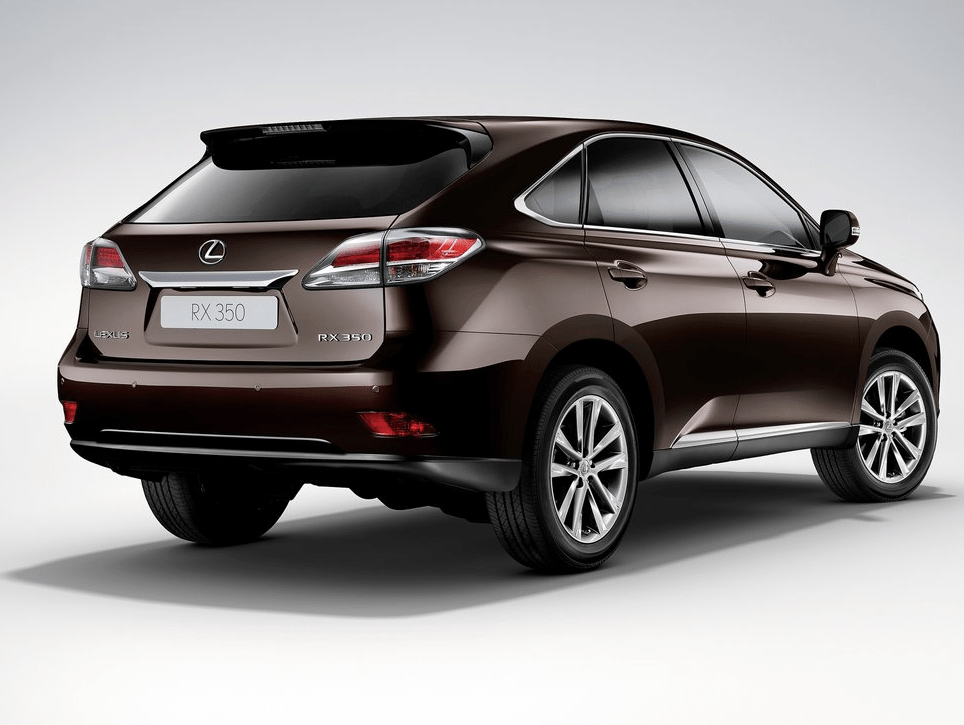 2014 Lexus RX350 brown