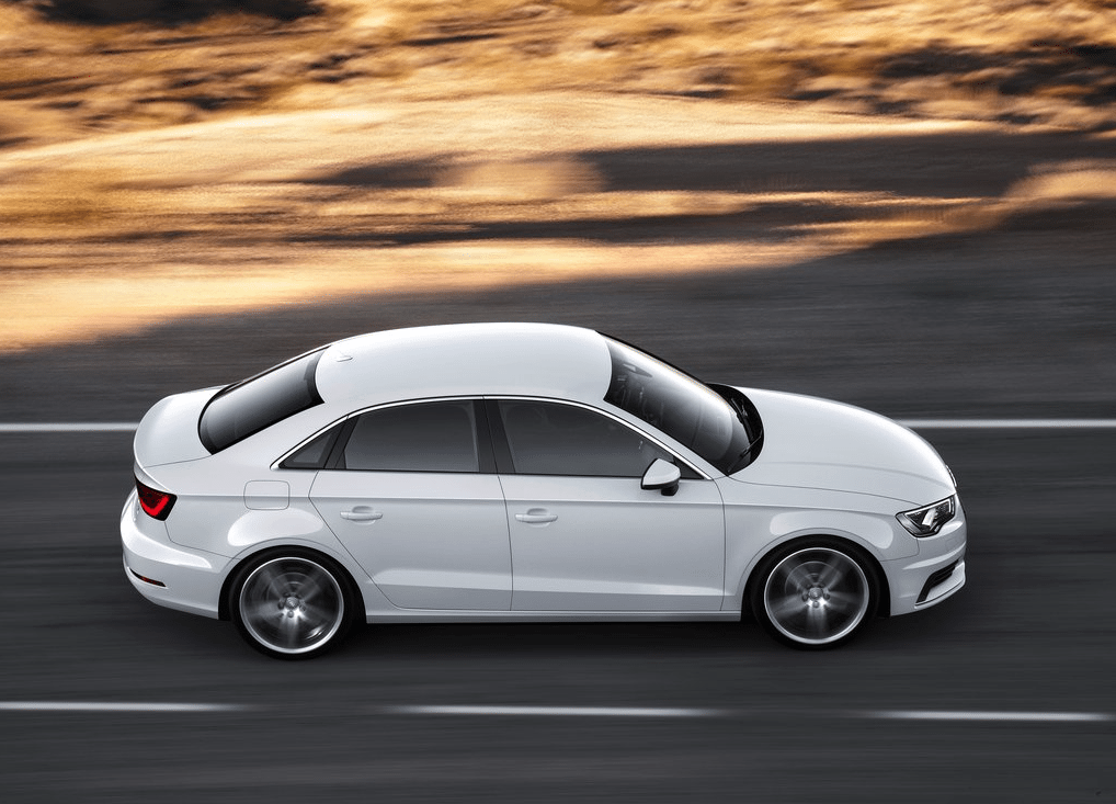 2014 Audi A3 sedan white