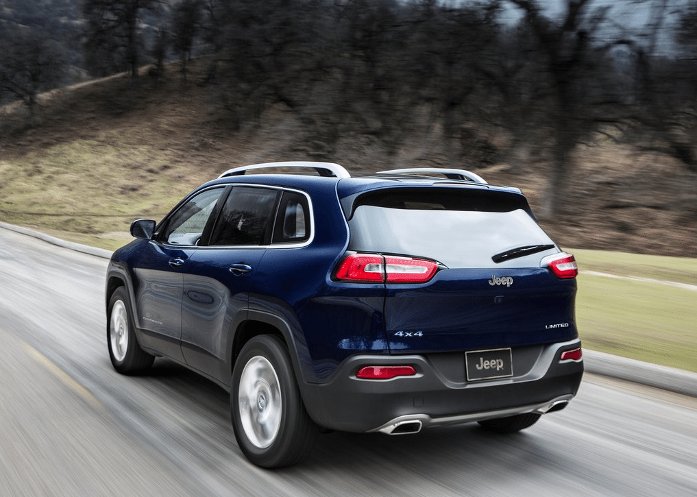 2015 Jeep Cherokee limited blue
