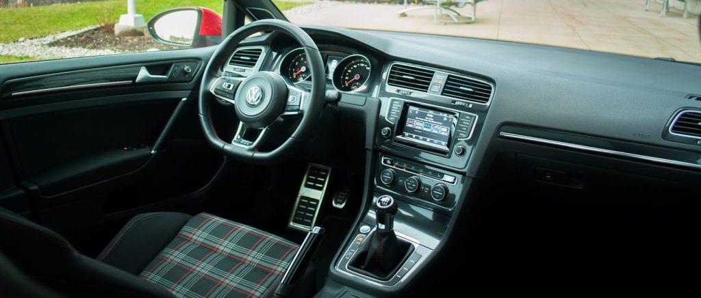 2015 Volkswagen Golf GTI interior