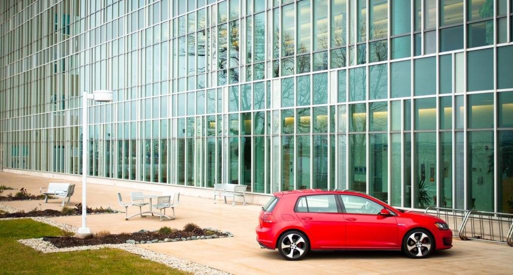 2015 Volkswagen Golf GTI side