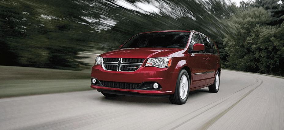 2015 Dodge Grand Caravan red SXT