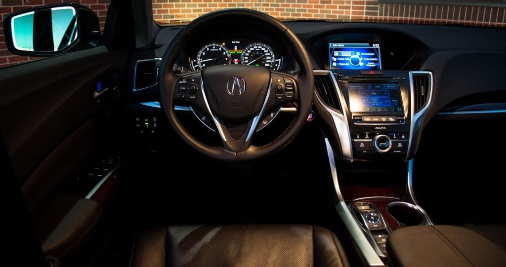2015 Acura TLX V6 SH-AWD Elite interior