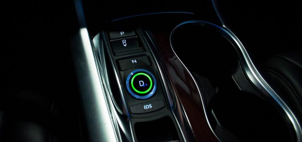 2015 Acura TLX shifter