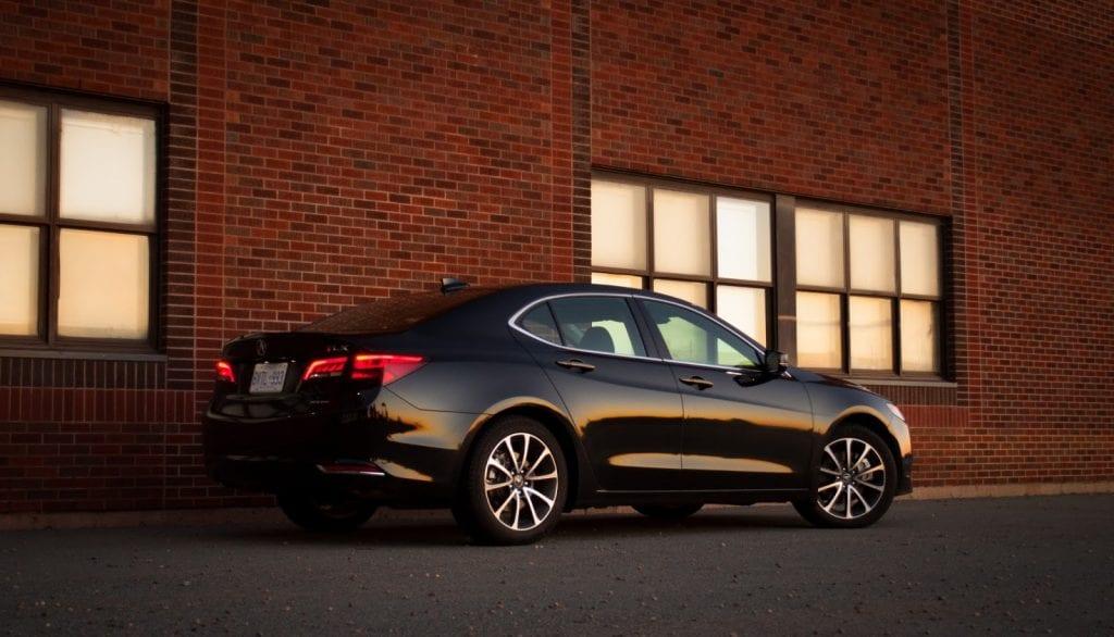 2015 Acura TLX V6 SH-AWD rear