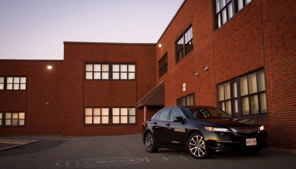 2015 Acura TLX V6 SH-AWD front