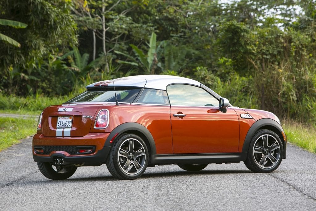2013 Mini Cooper Coupe S orange