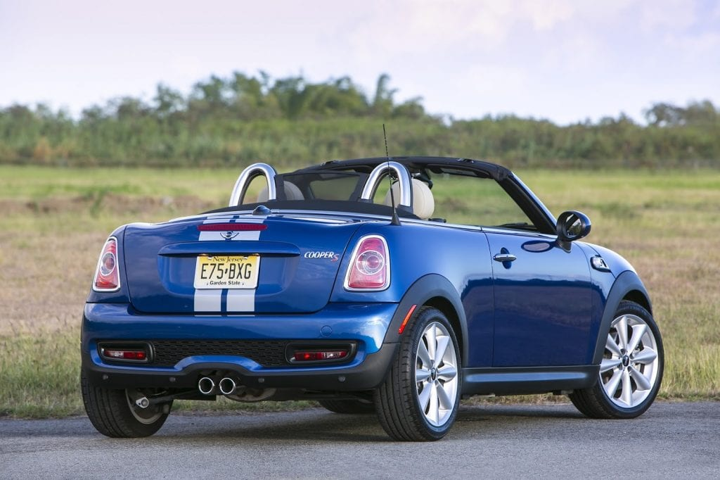 2013 Mini Roadster Cooper S blue