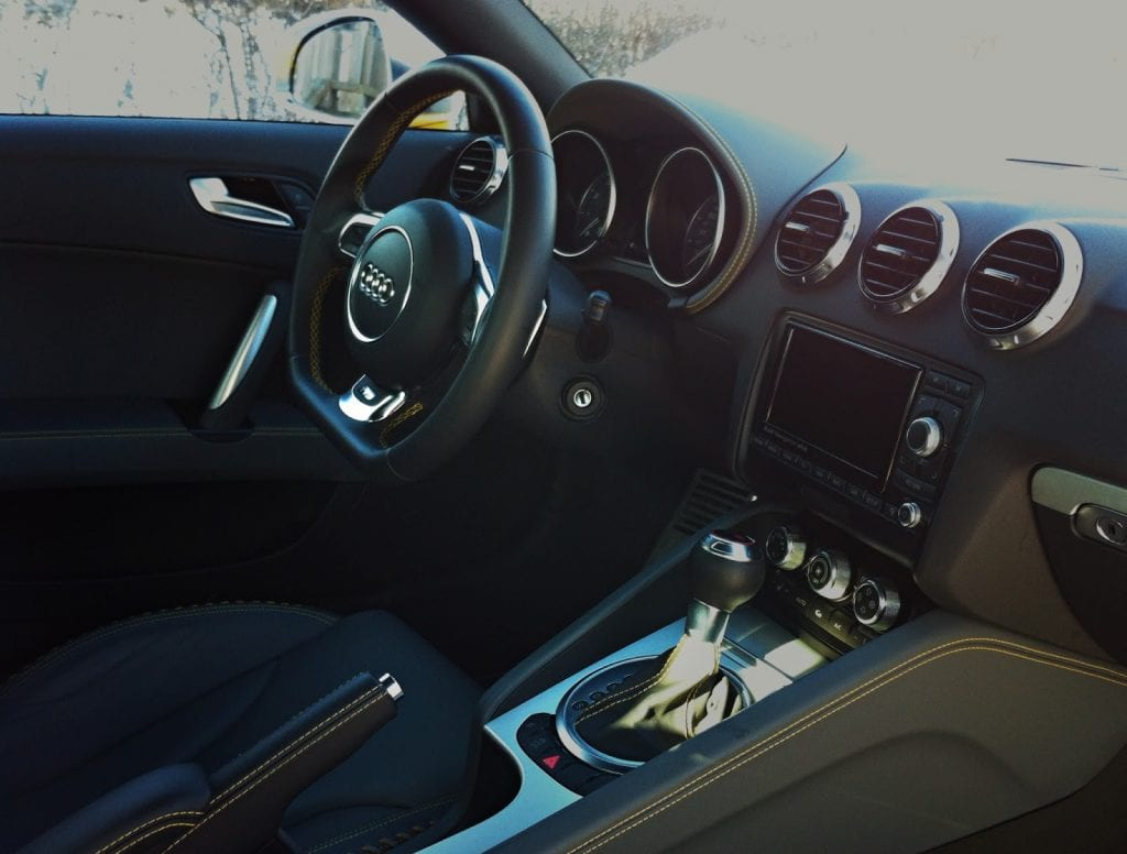 2015 Audi TTS Coupe Competition interior