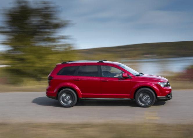 2015 Dodge Journey red