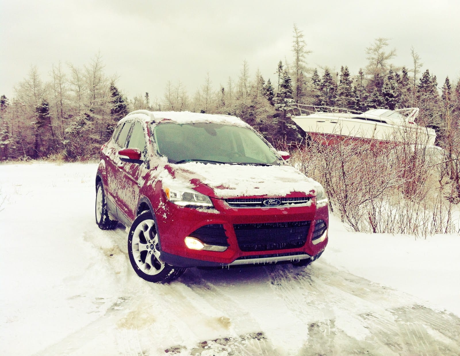 2015 Ford Escape Titanium Review Bad At Shovelling Gcbc