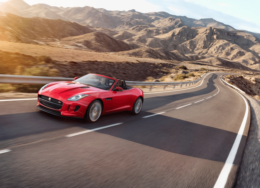 2015 Jaguar F-Type Convertible Red
