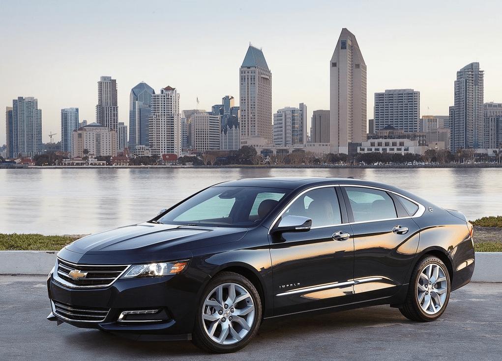 2014 Chevrolet Impala black
