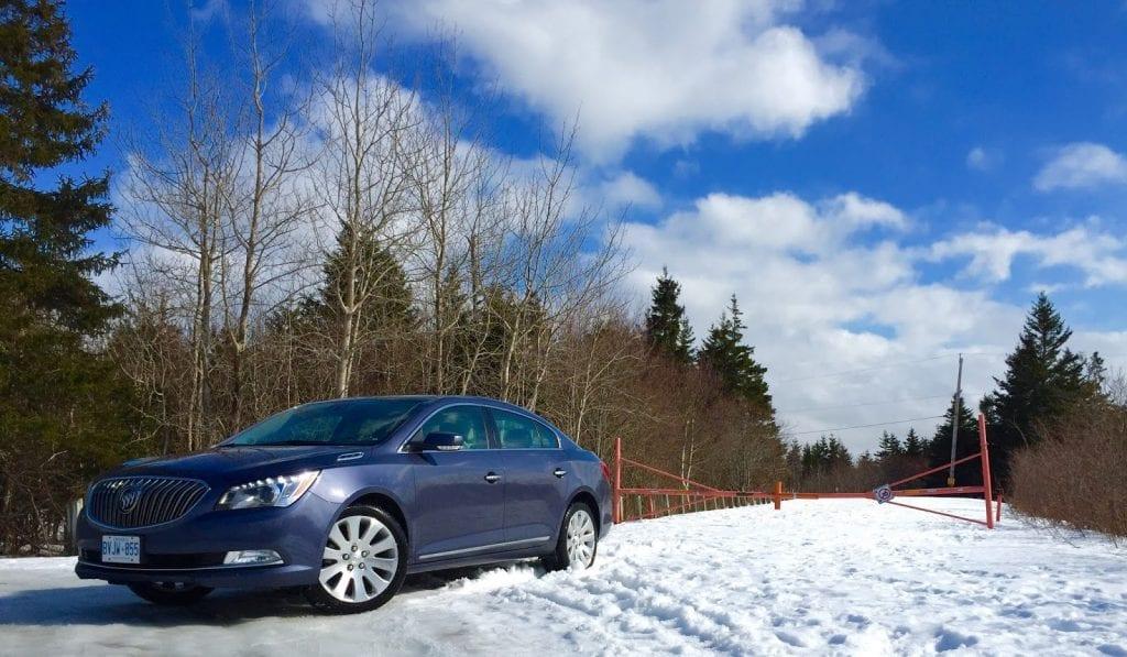 2015 Buick LaCrosse AWD Premium 1 blue