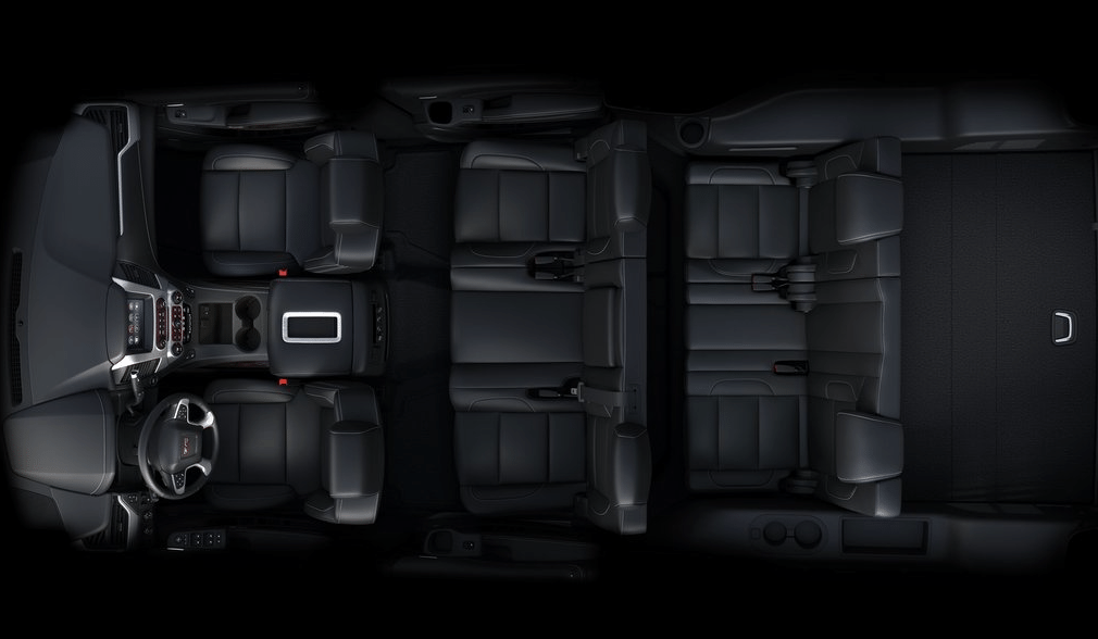 2015 GMC Yukon XL interior