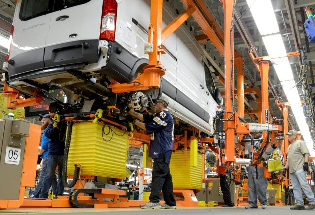 2015 Ford Transit Kansas City assembly plant