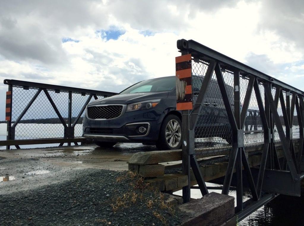 2015 Kia Sedona SXL+ Rainbow Haven bridge
