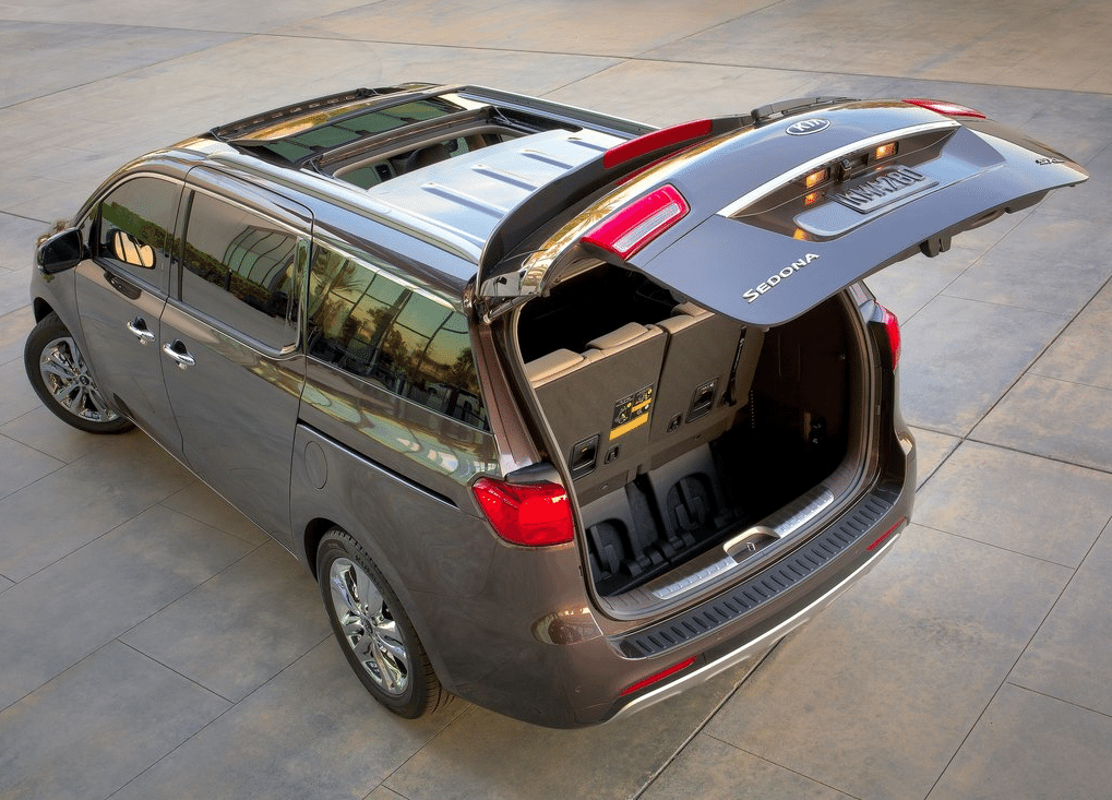 2015 Kia Sedona Tailgate