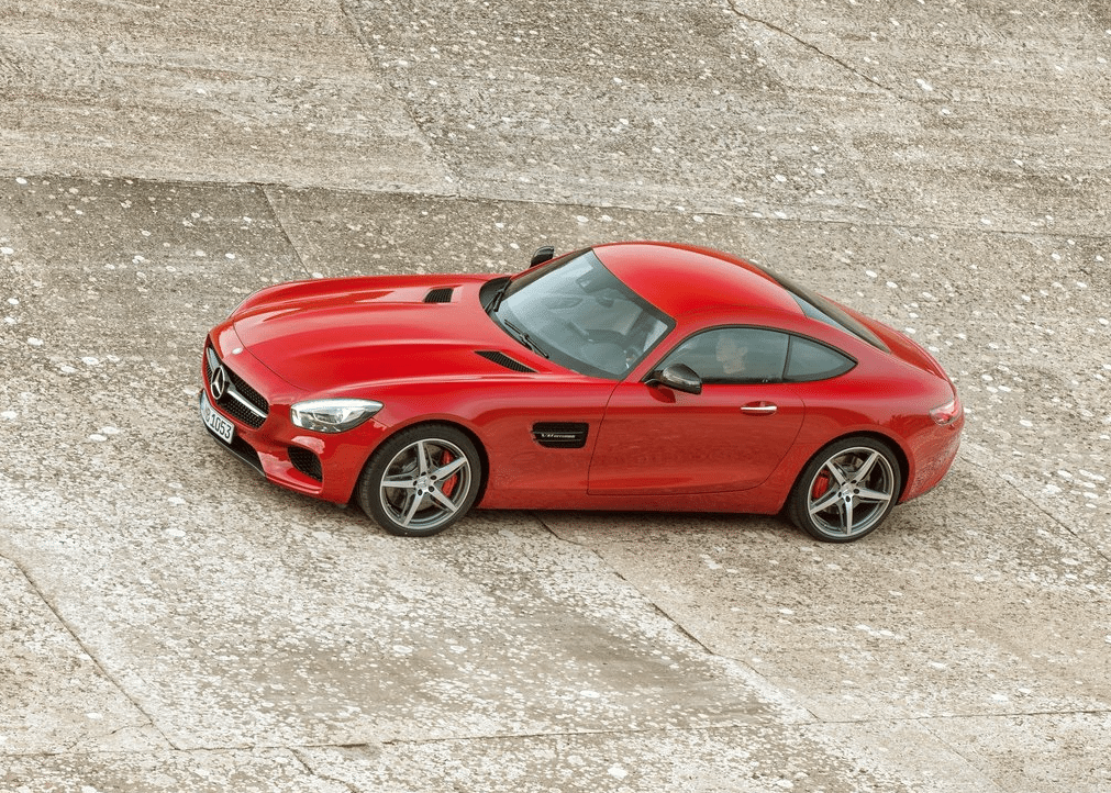 2015 Mercedes-AMG GT red