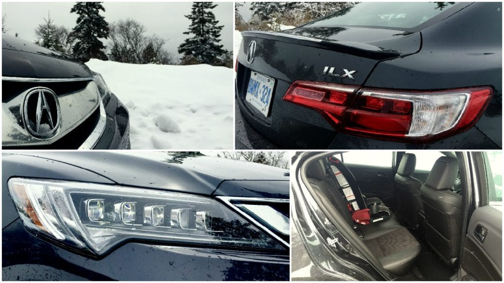 2016 Acura ILX collage