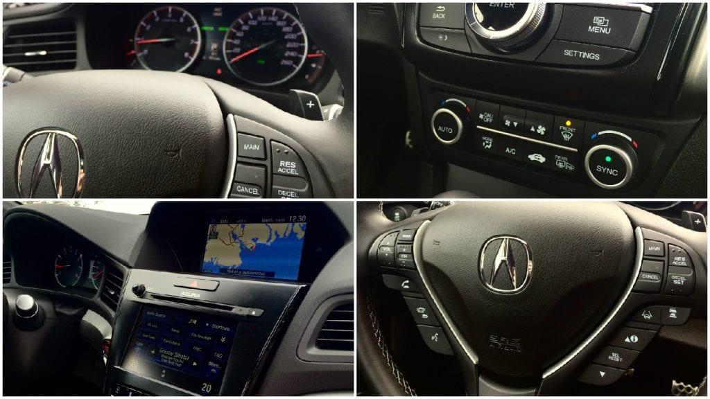 2016 Acura ILX A-Spec interior collage