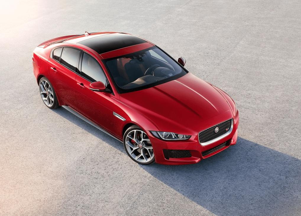 2016 Jaguar XE S red