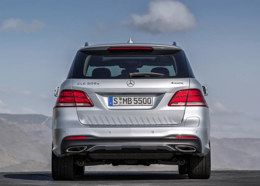 2016 Mercedes-Benz GLE-Class rear