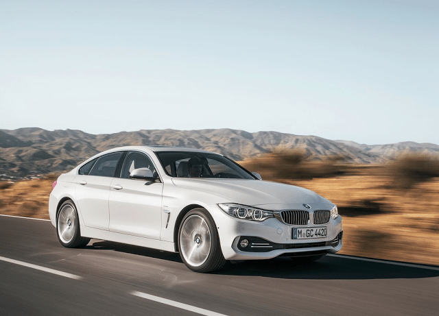 2014 BMW 4-Series Gran Coupe white
