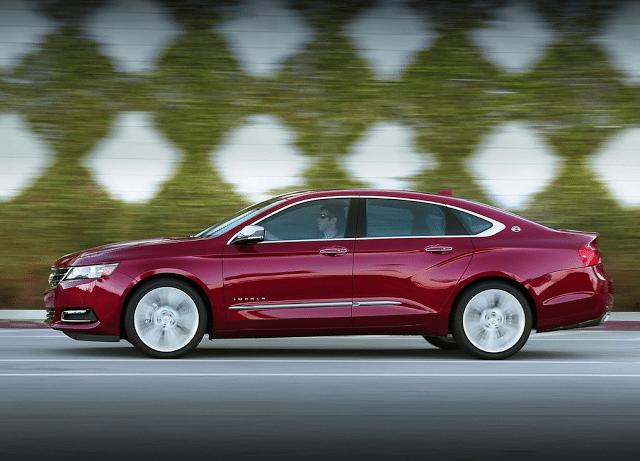 2014 Chevrolet Impala red