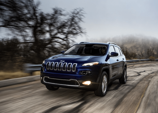2014 Jeep Cherokee blue