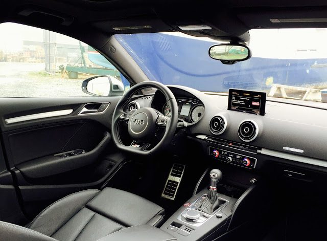 2015 Audi S3 Technik interior