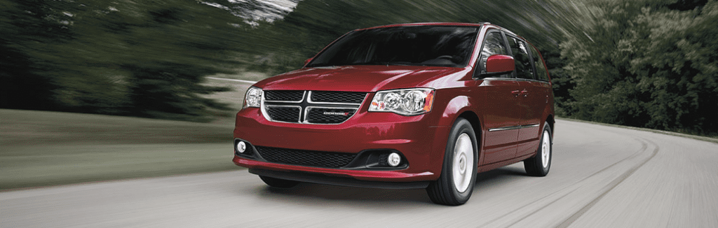 2015 Dodge Grand Caavan red