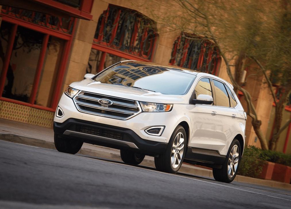 2015 Ford Edge white