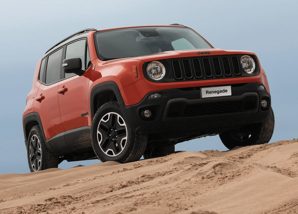 2015 Jeep Renegade Orange