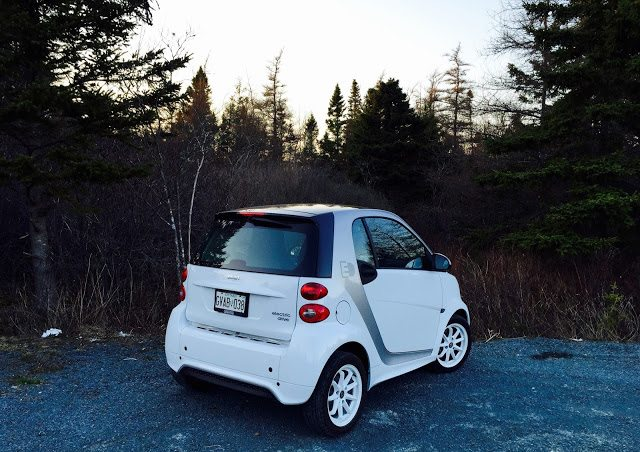 2015 Smart Fortwo ED rear