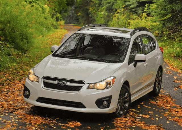 2014 Subaru Impreza white