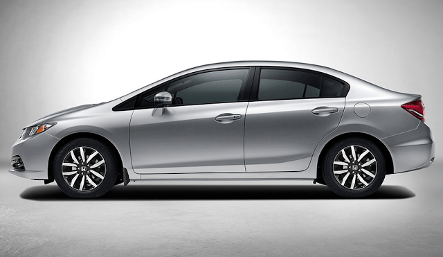 2015 Honda Civic grey