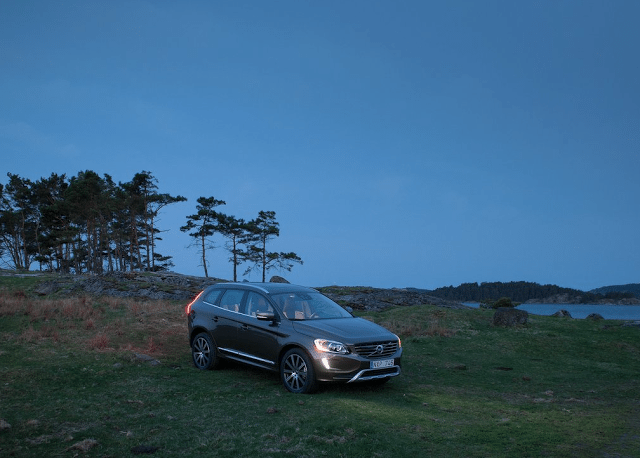 2015 Volvo XC60 brown