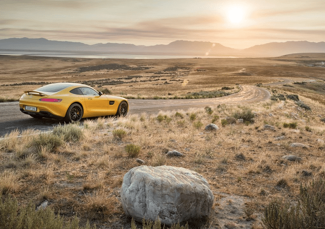 2016 Mercedes-Benz AMG GT yellow