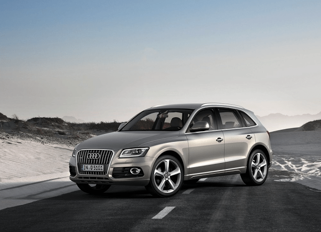 2013 Audi Q5 silver