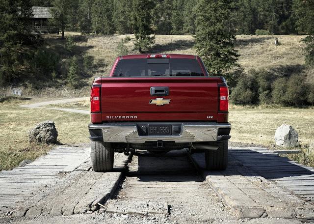 2014 Chevrolet Silverado LTZ rear