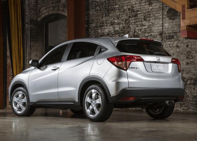 2015 Honda HR-V silver