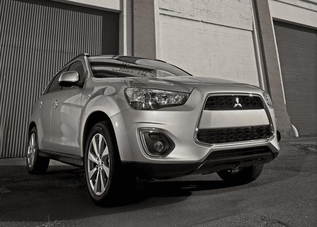 2015 Mitsubishi Outlander Sport silver