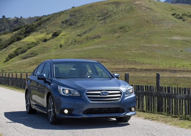 2015 Subaru Legacy blue